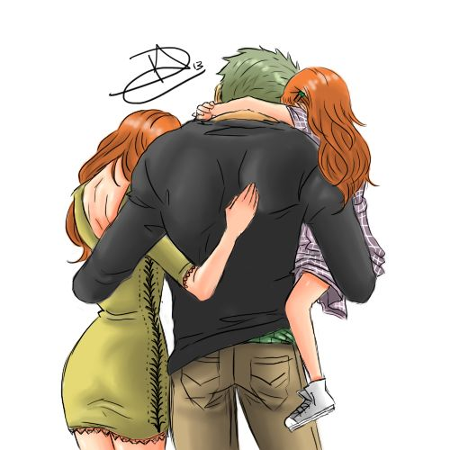 Roronoa zoro, One piece and Daughters on Pinterest