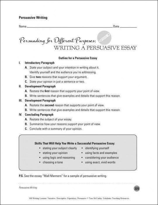 Write my how to write an persuasive essay