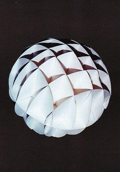 Как сделать обемный шар