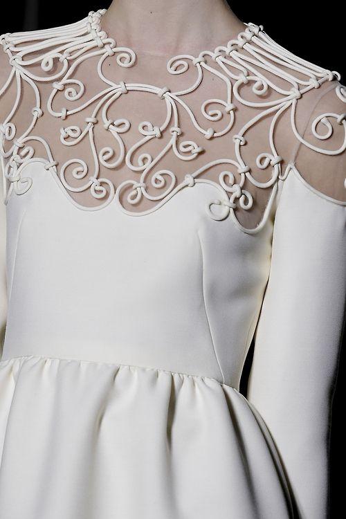 Тесьма на платьях