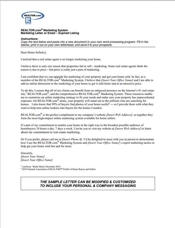 Real Estate Introduction Letter Sample 28.05.2017