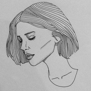 картинки для срисовки в стиле тамблер