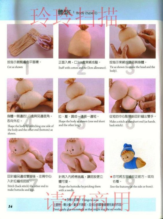 Candy socks doll Tutorial Favorite DIY and Hand Made Item Pinterest Sock Dolls, Doll Tutorial and Sock