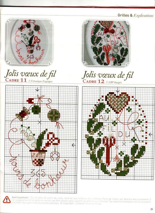 Схемы вышивальщиц в вышивке крестом