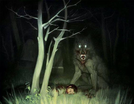 Werewolf vs slenderman