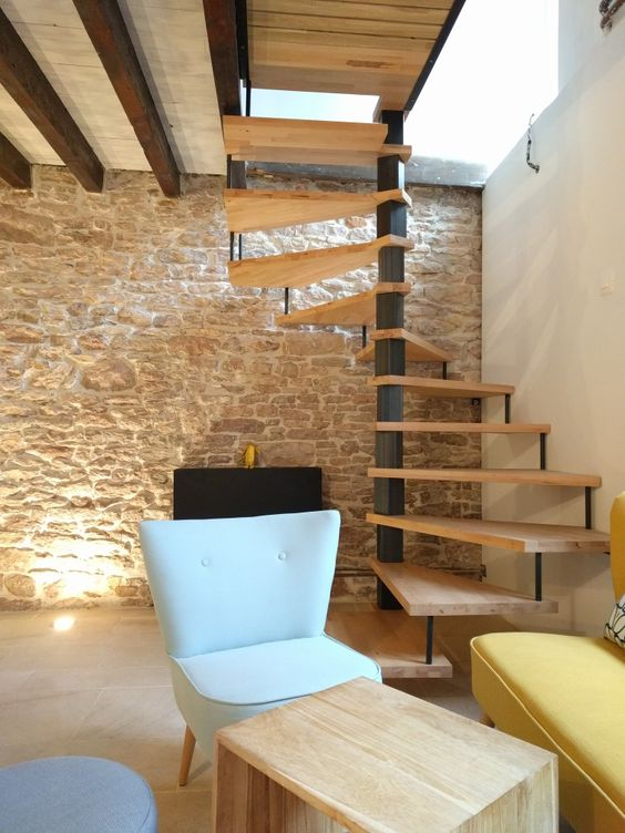 1000 ideas about escalier colima on bois on pinterest escalier h lico dal - Escalier colimacon metal ...