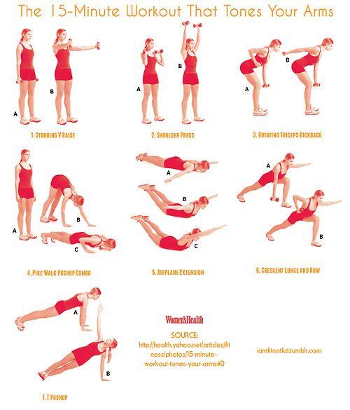 Комплекс упражнений на руки в домашних условиях