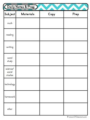 Teacher Weekly Schedule Template. daily timetable template for ...