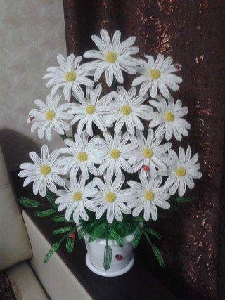 ... цветы из Бисера | Цветы из бисера