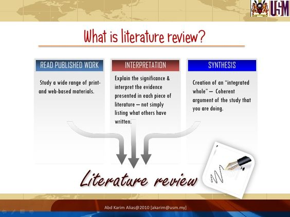 what is review of literature in research