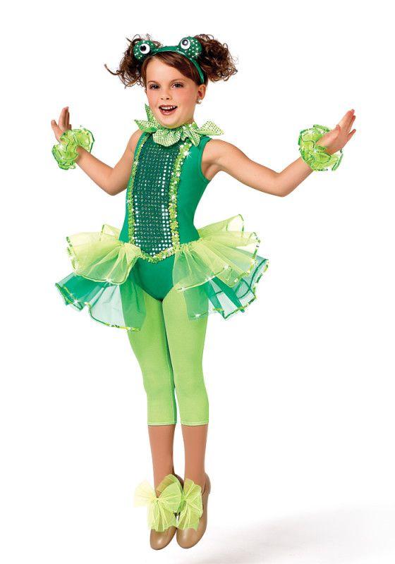 Сделать костюм лягушки девочки своими руками