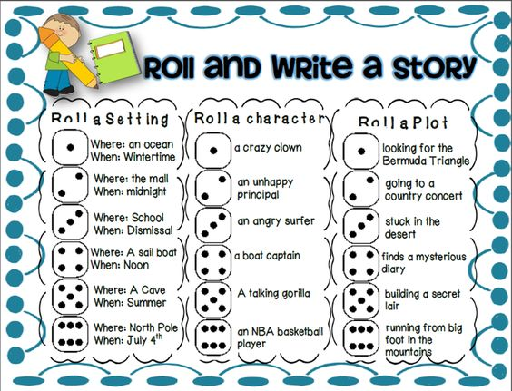 pictures for creative writing for grade 1
