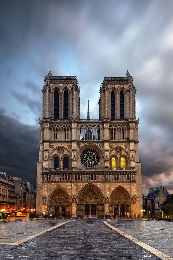 The Notre Dame de Paris cathedral a must in the city of love.