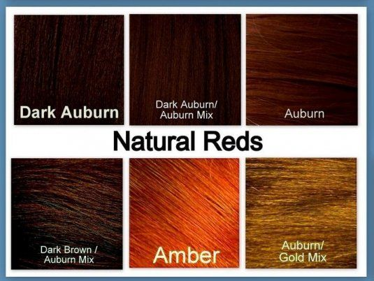 Similiar Auburn Brown Hair Color Chart Keywords