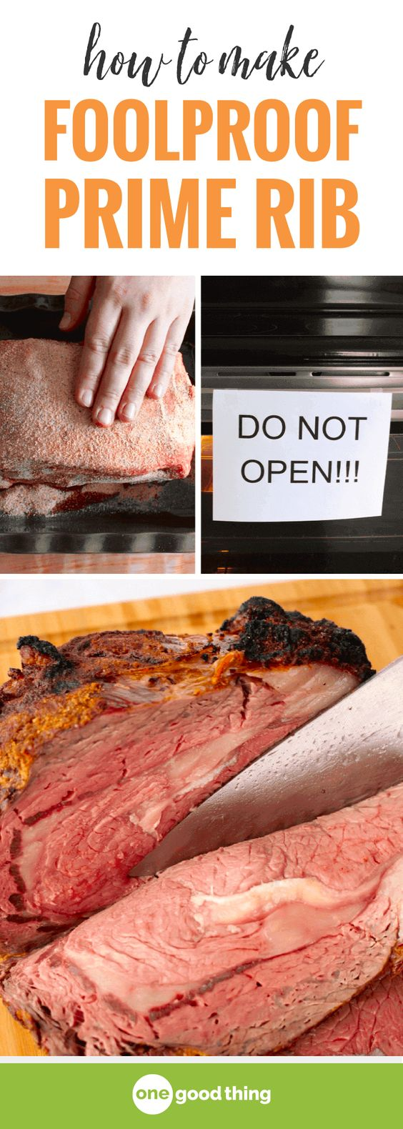 You CAN make prime rib, I promise! This method is foolproof, and the results are SO delicious. This prime rib will be the star of your holiday party!