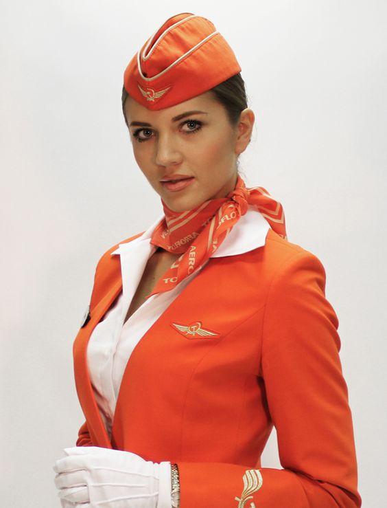 Макияж стюардесс аэрофлота