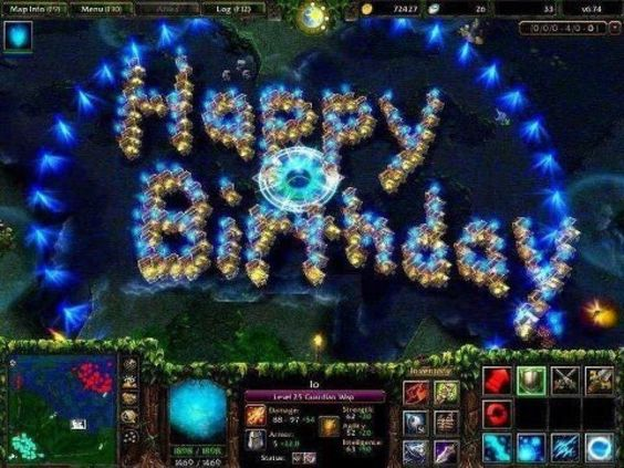 Поздравления с днем рождения геймера dota 2