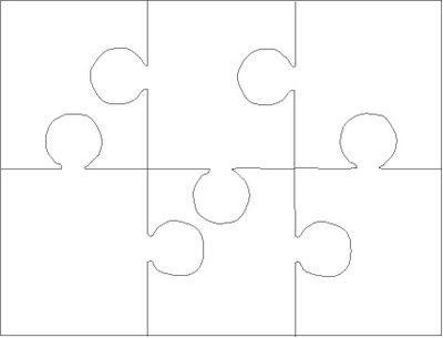 Blank 8 Piece Puzzle Template C Ile Web E Hukmedin
