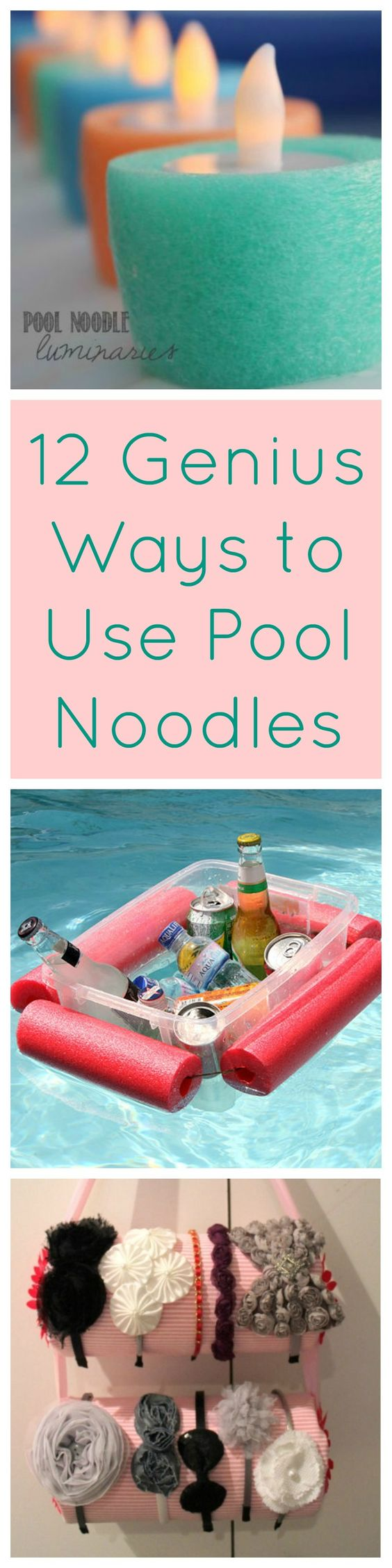 12 Ways Pool Noodles Are Totally Awesome Outside the Pool