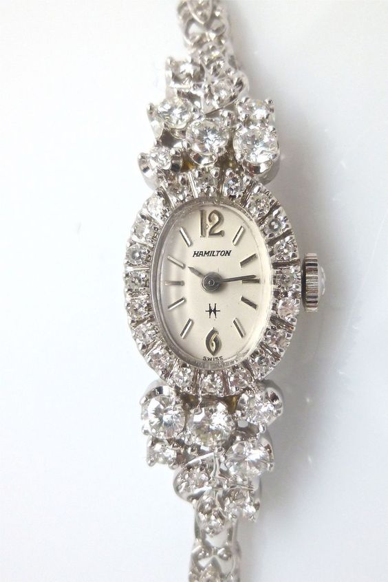 Vintage hamilton watches ladies