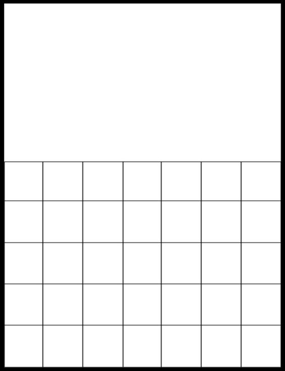 Are printable blank grids available online?