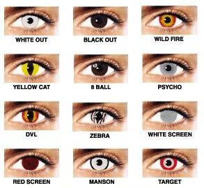 halloween contact lenses | products | pinterest