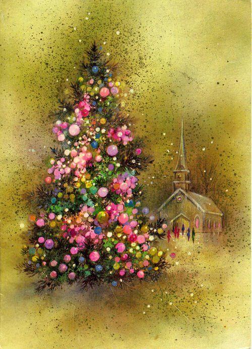 Vintage Christmas Card...: