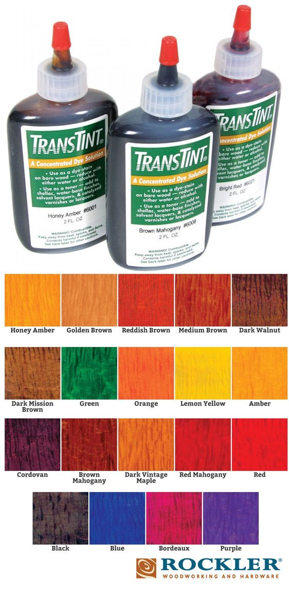 transtint dyes stains other and lush