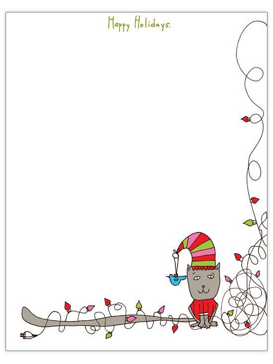 Christmas border template datariouruguay spiritdancerdesigns Choice Image