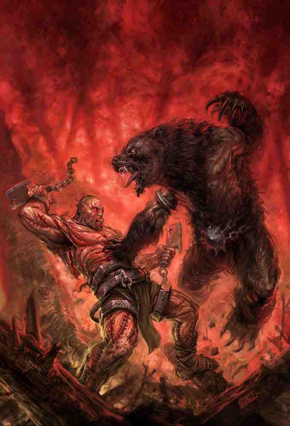 Werewolf vs werebear