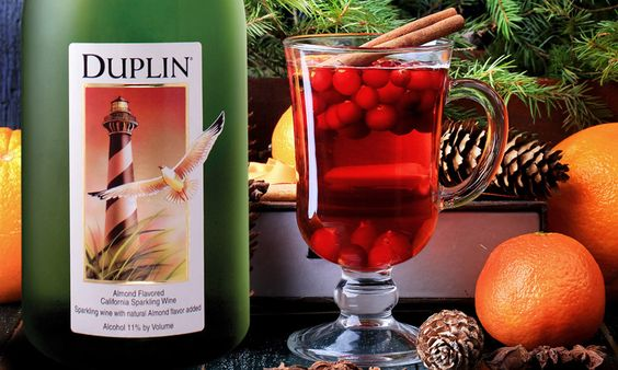 Cranberry Champagne Punch | Duplin Winery