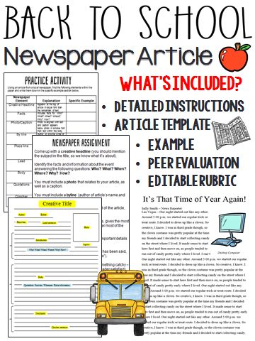 guidelines for writing a newspaper article 1495763710