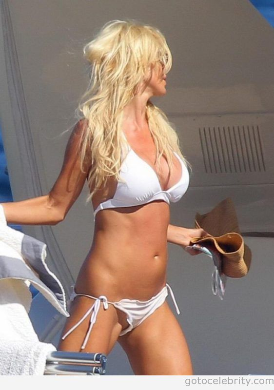 slip Victoria silvstedt pussy