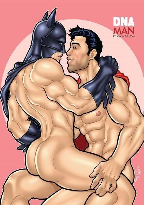 Порно Геи Бэтмен