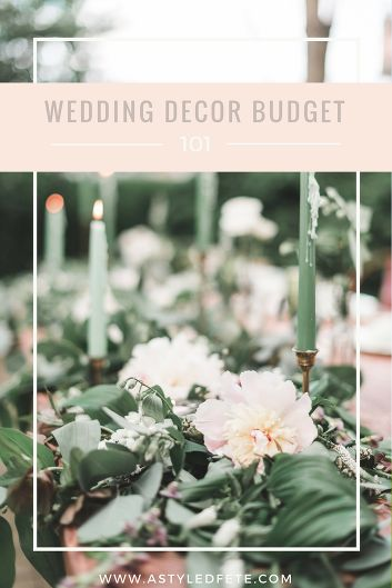 Tips & Tricks to stretch those wedding dollars further     www.astyledfete.com
