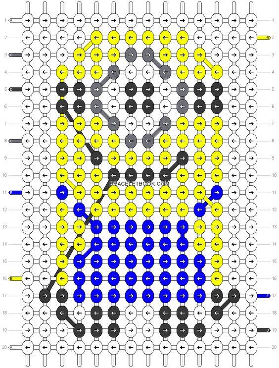 Схемы для плетения из бисера миньон