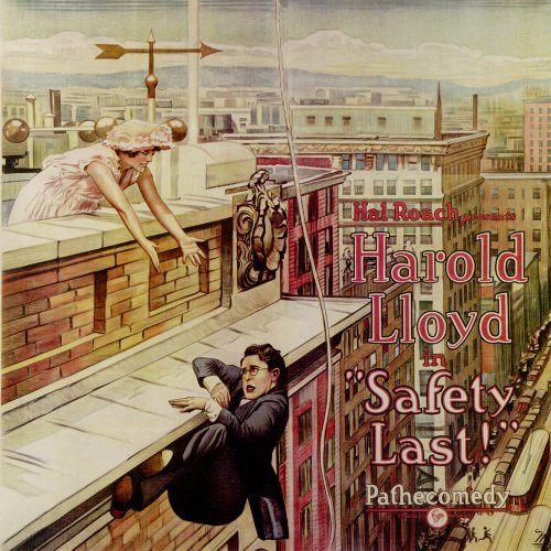 Harold Lloyd - El Hombre Mosca (1923) [MEGA]