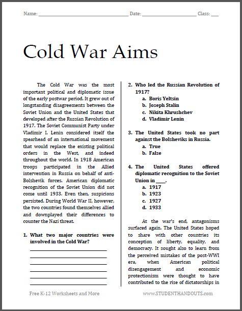 Free Worksheets » Printable School Worksheets - Free Math ...
