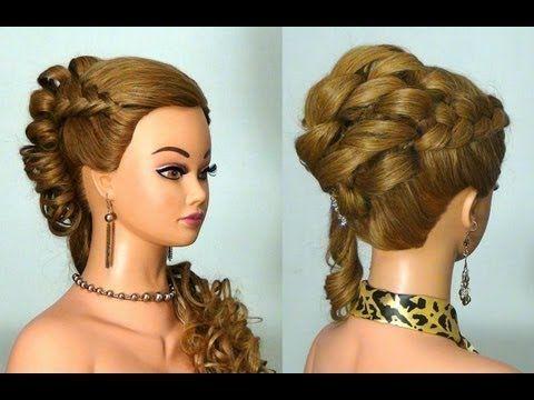 Причёски на юбилей на длинные волосы
