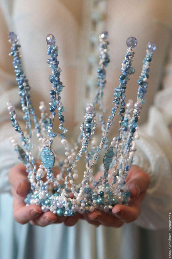 Корона снежной королевы своими руками от дарьи щербань