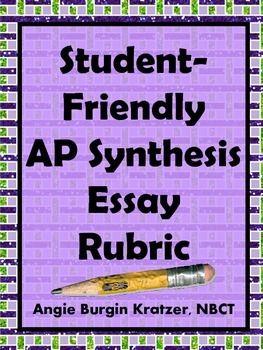 ap language and composition essay rubrics
