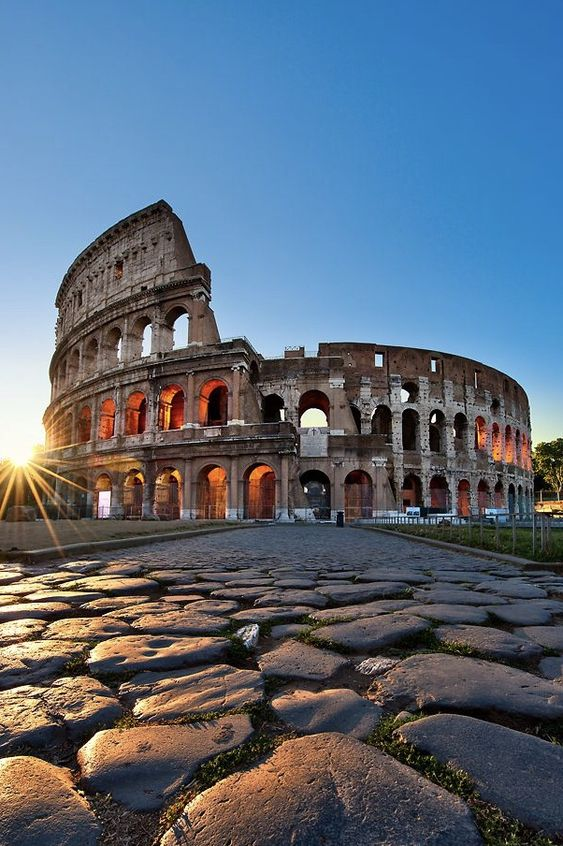 Colosseum, Rome, Italy - The MAN