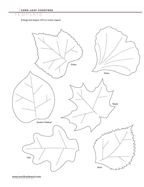 Crafts Leaf Template And The Ojays On Pinterest