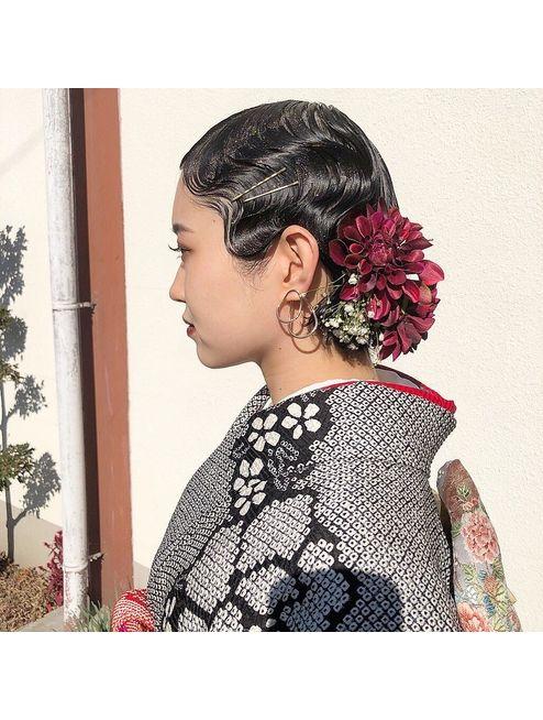 成人式 髪型 2020年