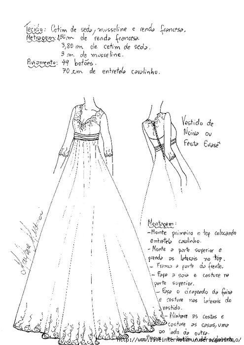 Свадебное платье своими руками выкройка