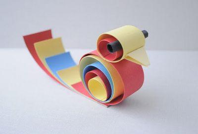 Домики своими руками из цветной бумаги
