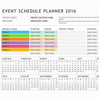 Calendar Template Event Planning 2017 calendar – Event Template Word