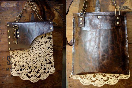 Кожаные сумки в стиле бохо-шик UrbanHeirlooms Leather - Изделия из кожи Pinterest Html
