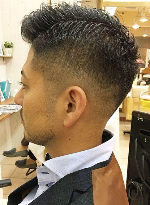 髪型 印象 男
