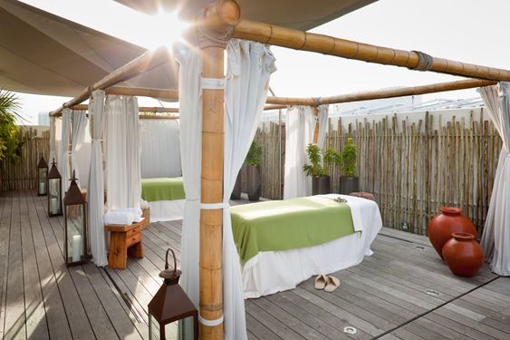 The Wellness Garden Spa at the Betsy Hotel, Miami Beach